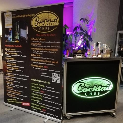 Cocktail Anlage mieten